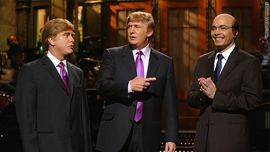 He's latest presidential candidate set to host 'SNL'
