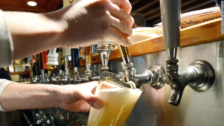 Alcohol sales fall for first time in nearly 20 years - May. 13, 2016