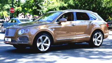Meet the world's fastest SUV: The Bentley Bentayga