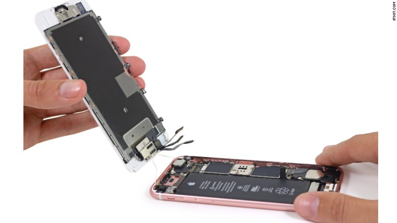 iphone display assembly
