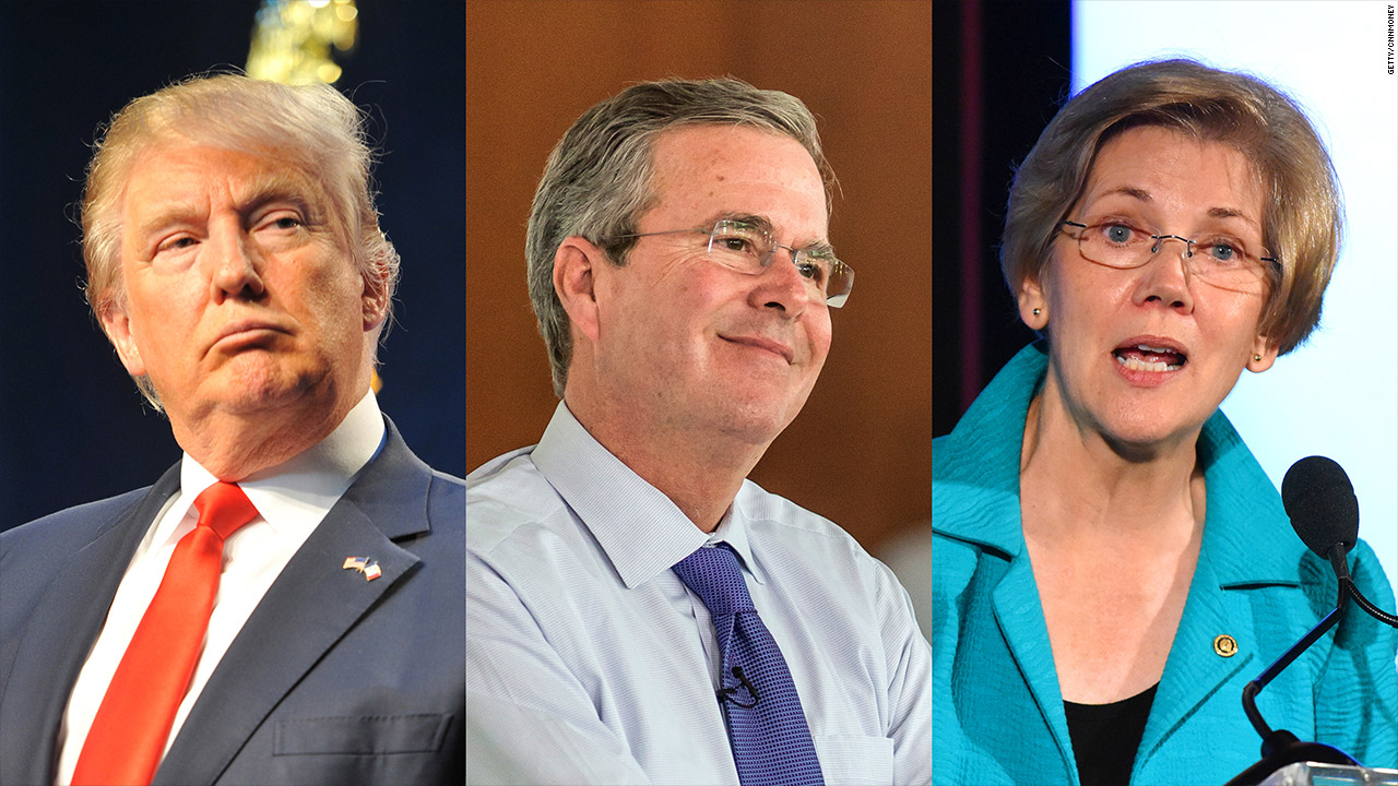 The tax reform Trump, Bush and Warren all agree on - Video - Economy