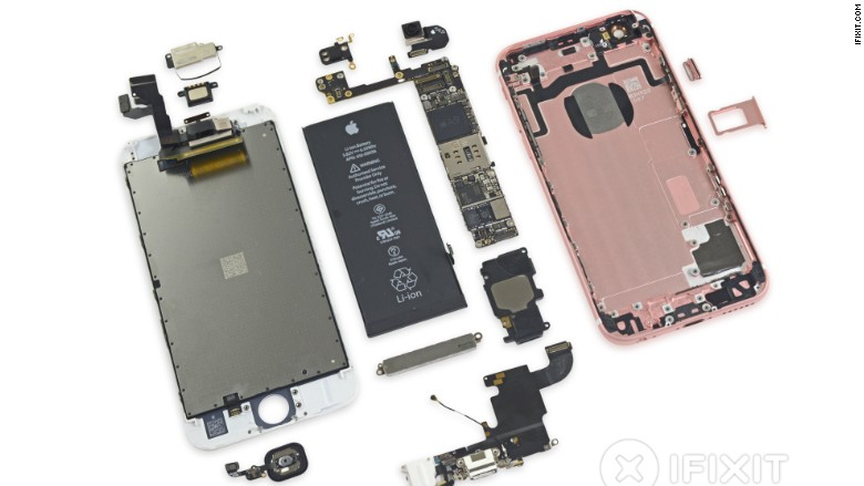 A look on the inside: iPhone 6S