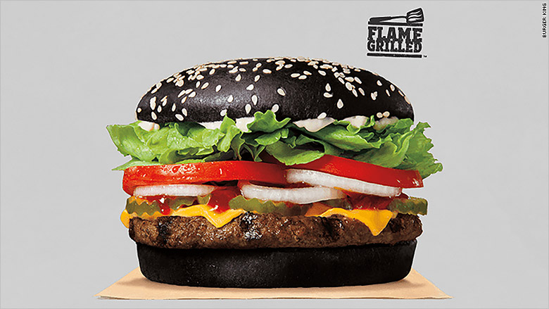 Halloween Whopper: Burger King unveils a black bun for holiday ...