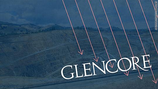 Glencore insiders pour millions into crashing shares