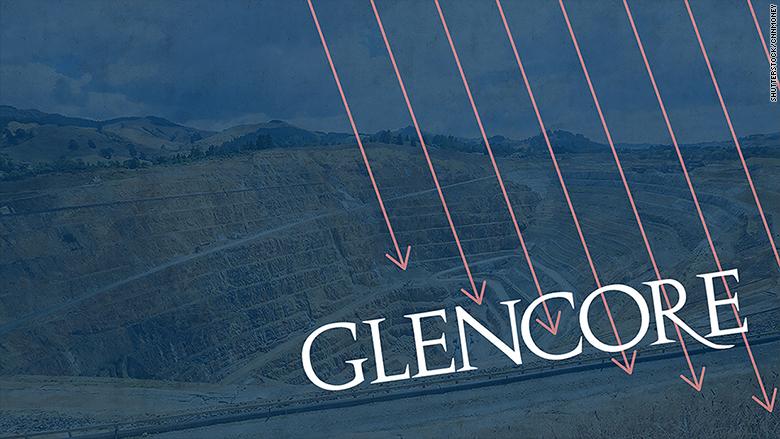 glencore stock markets