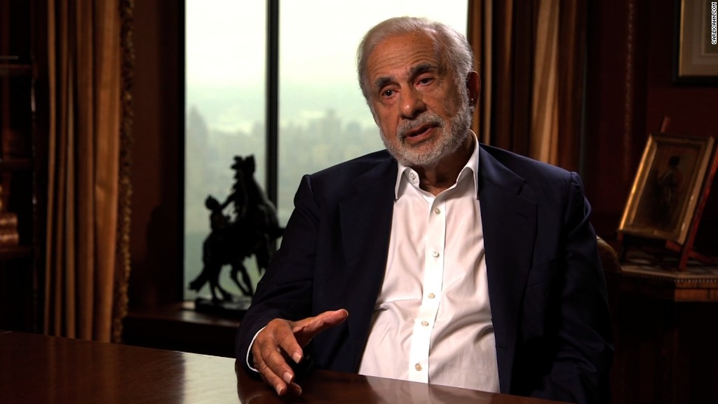 Why Carl Icahn is backing Donald Trump