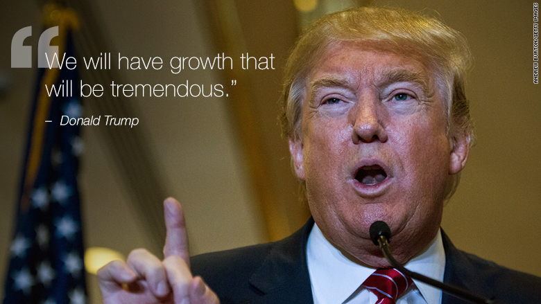 donald trump growth