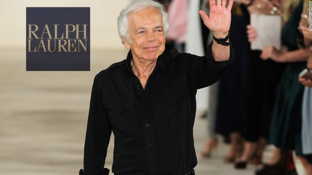Ralph Lauren stepping down as CEO