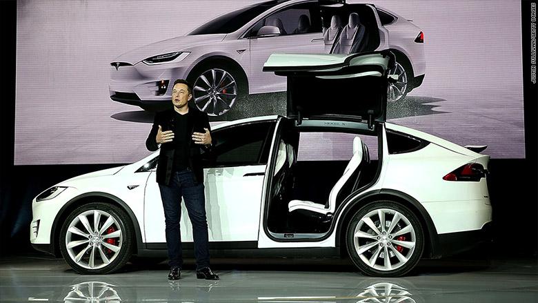 Tesla Model X Falcon Wing Doors Oct