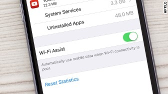 ios 9 wifi assist