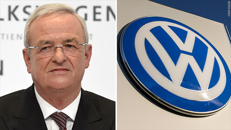 Former Volkswagen CEO charged with fraud in 'dieselgate'