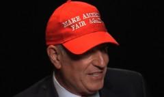 Mayor de Blasio's take on Trump's baseball hat
