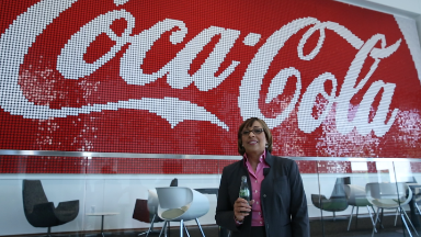 This woman controls purse strings at Coke