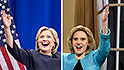 Hillary Clinton does Trump impression on 'SNL'
