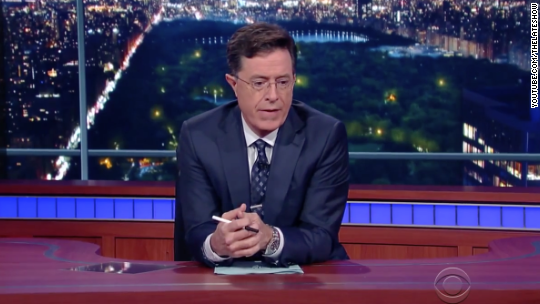 Colbert on UCC shooting: 'I honestly don't know what to do or say'