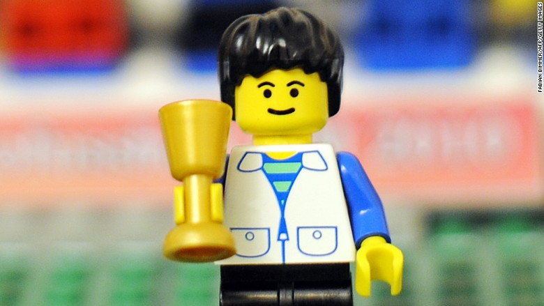 Brick by brick, Lego builds top 100 brand