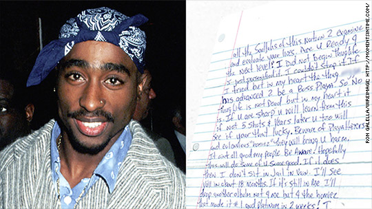 Tupac Shakur speaks from beyond the grave