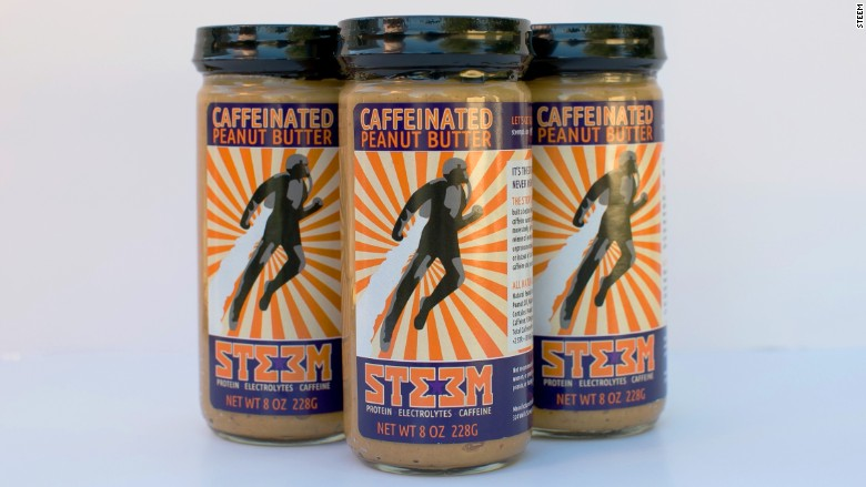 steem caffeinated peanut butter