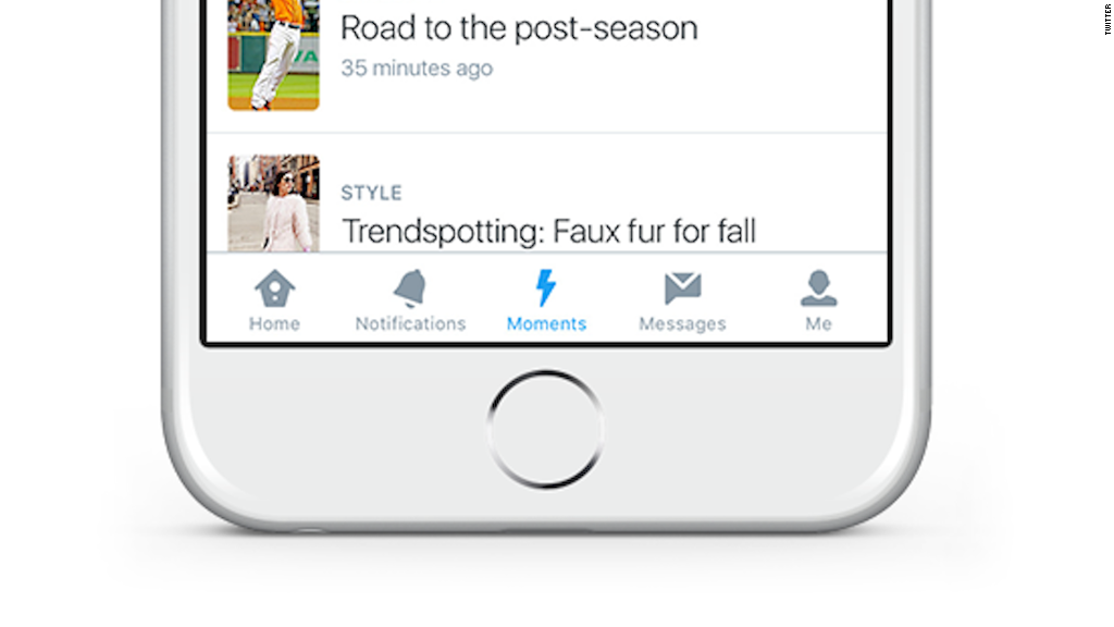Twitter adds Moments feature