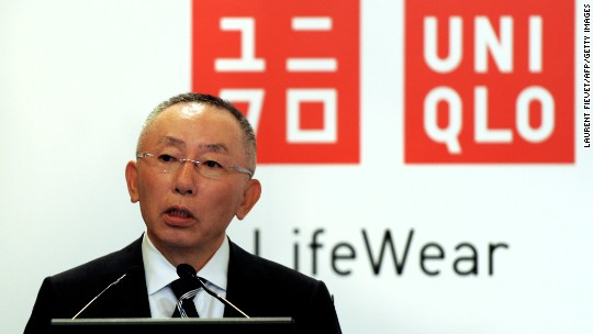 Uniqlo founder has 'no concern' about China