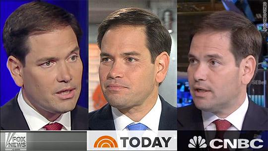 Marco Rubio: Everywhere...but CNN