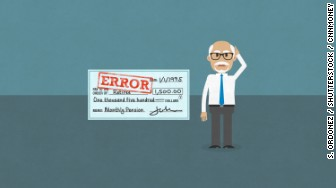 pension fund error