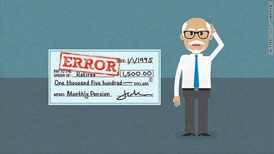 I was overpaid by my pension. Now I owe $67K
