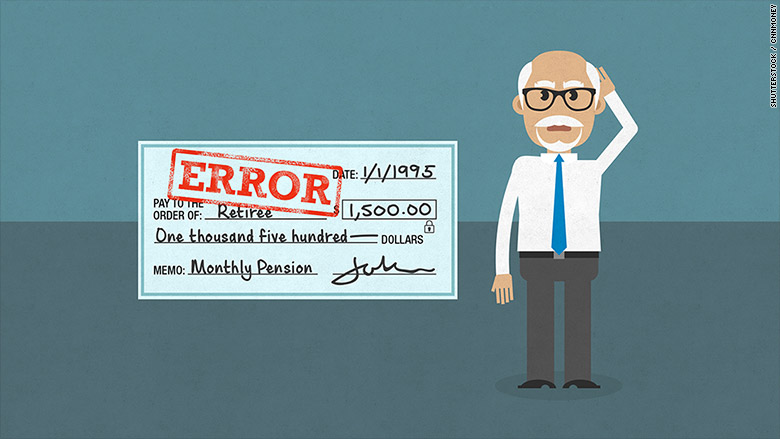 I was overpaid by my pension. Now I owe $67,000