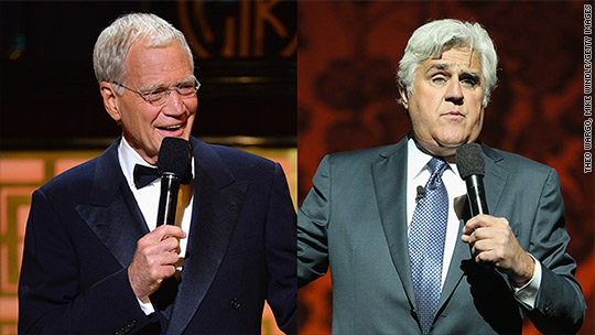 Why Leno didn't appear on Letterman's final shows
