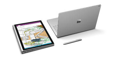 See Microsoft's reversible laptop in :60