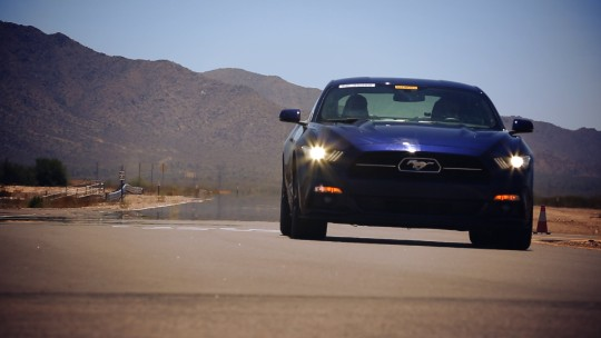 Ford's punishing heat test in the Arizona desert