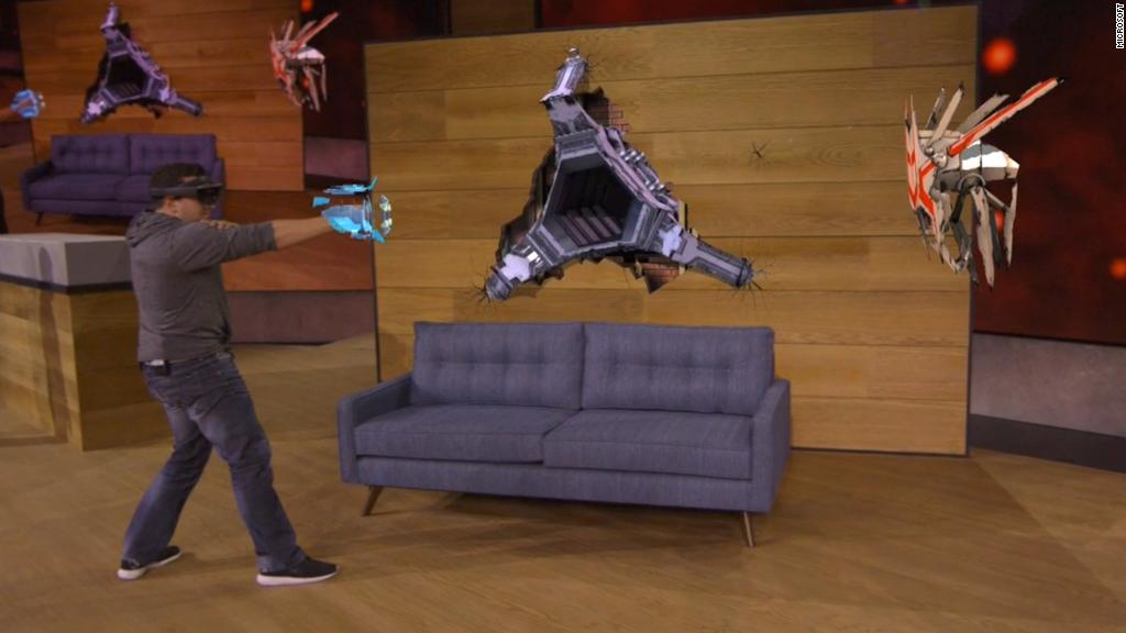 See Microsoft demo HoloLens