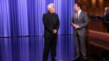 Jay Leno takes over for Fallon on 'The Tonight Show'