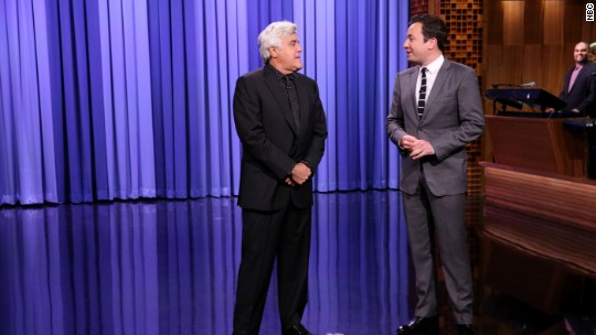 Jay Leno makes surprise return to 'The Tonight Show'