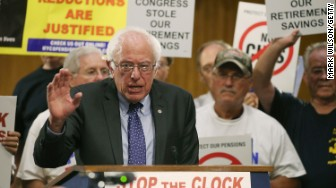 pension cuts bernie