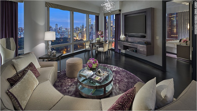 10 most expensive city hotels in the u s for Most expensive hotel in nyc