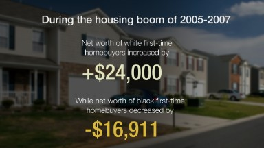 Black wealth not protected by homeownership