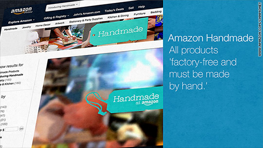 Etsy, look out ... Here comes Amazon Handmade!