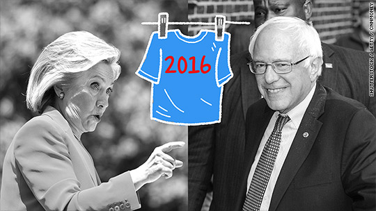 Bad sign for Hillary: Bernie is selling more shirts