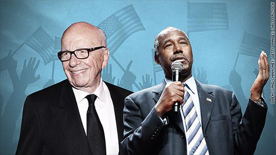 Ben Carson defends Rupert Murdoch over 'real black president' tweet