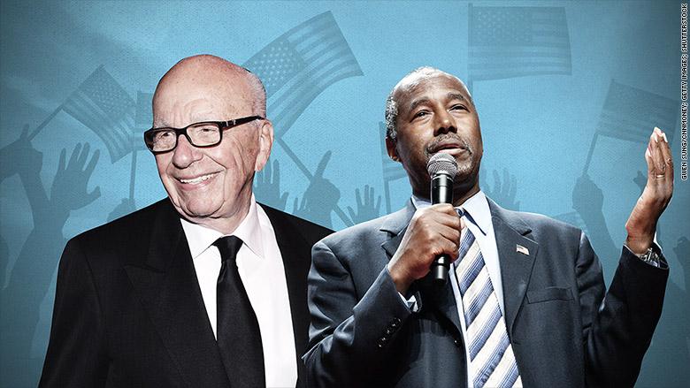 Ben Carson: Rupert Murdoch's favorite candidate