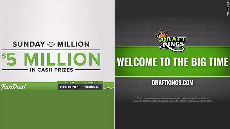 draft kings split