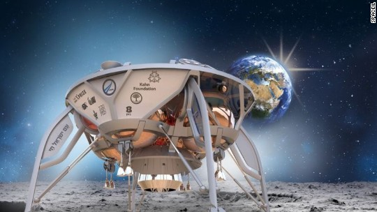 Israeli team set for first-ever commercial mission to the moon