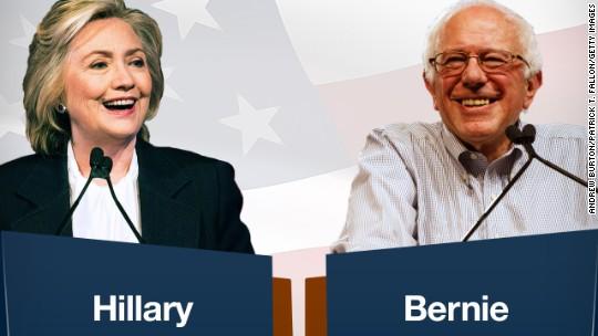 Hillary vs. Bernie: On Wall Street, taxes, college