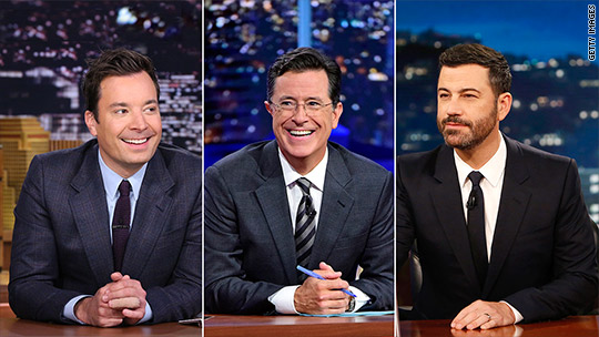 Stephen Colbert's audience is much younger and bigger than Letterman's