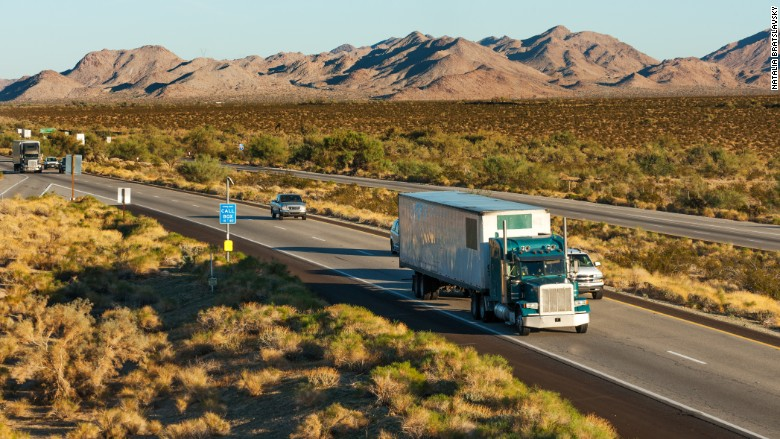 Truck drivers wanted. Pay: $73,000