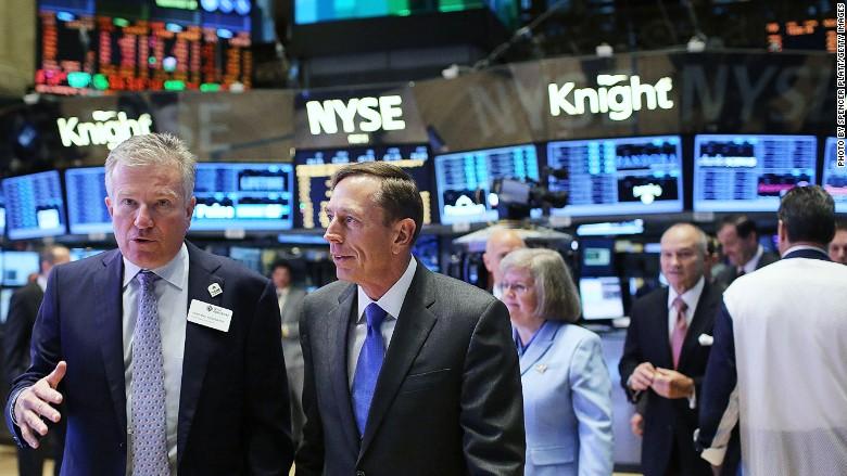David Petraeus CIA Wall Street