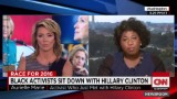 Black activists sit down with Hillary Clinton