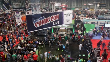 Inside New York Comic Con 2015