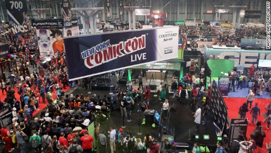 NY Comic Con: Why all those costumes matter to big media